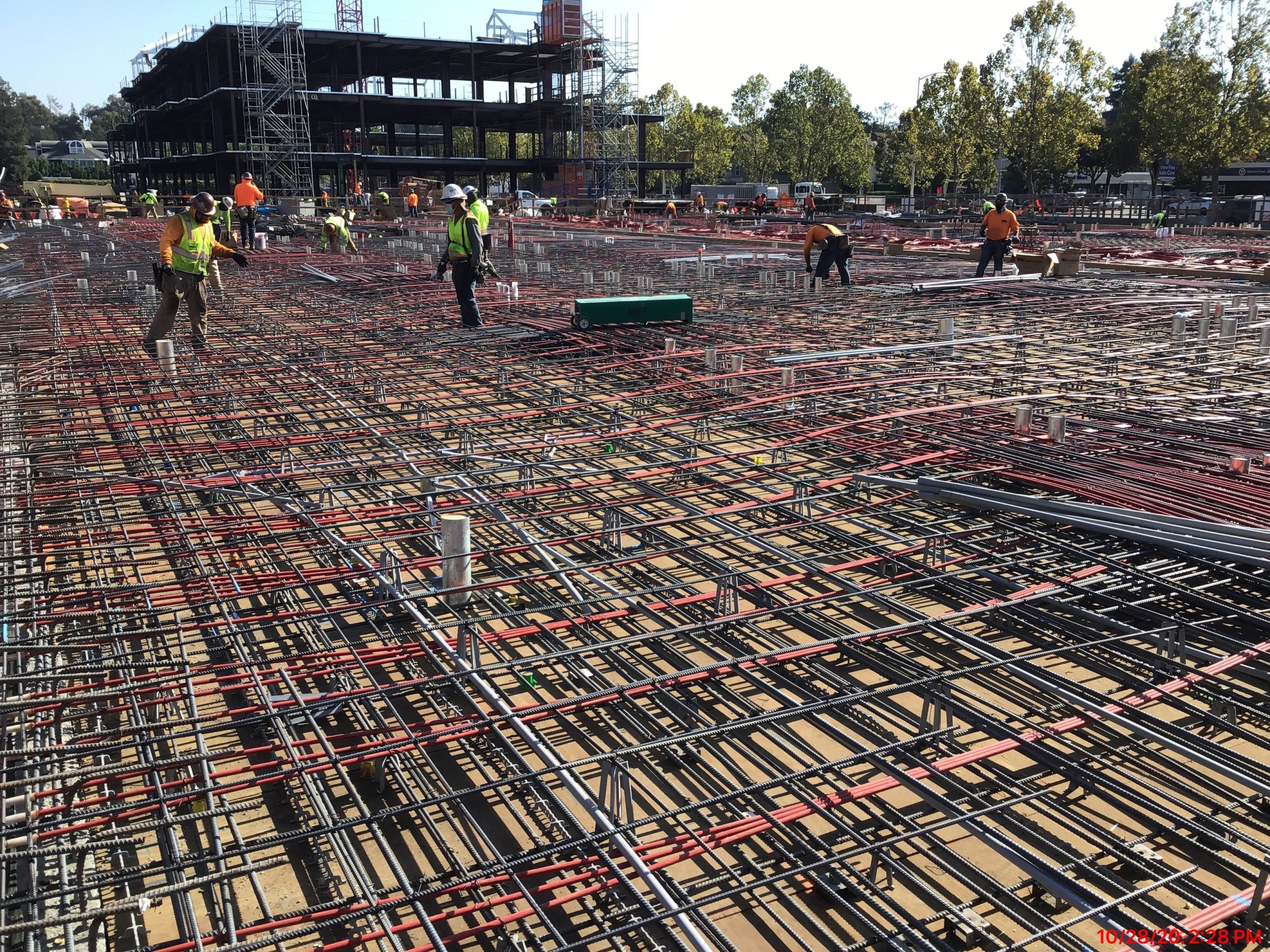 Steel Reinforcement and Structure Erection – October 2020