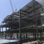 Office Building 2 Steel Erection Continues – July 2020