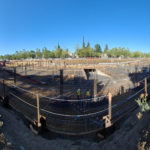 Panoramic View of Construction Site - Summer 2020