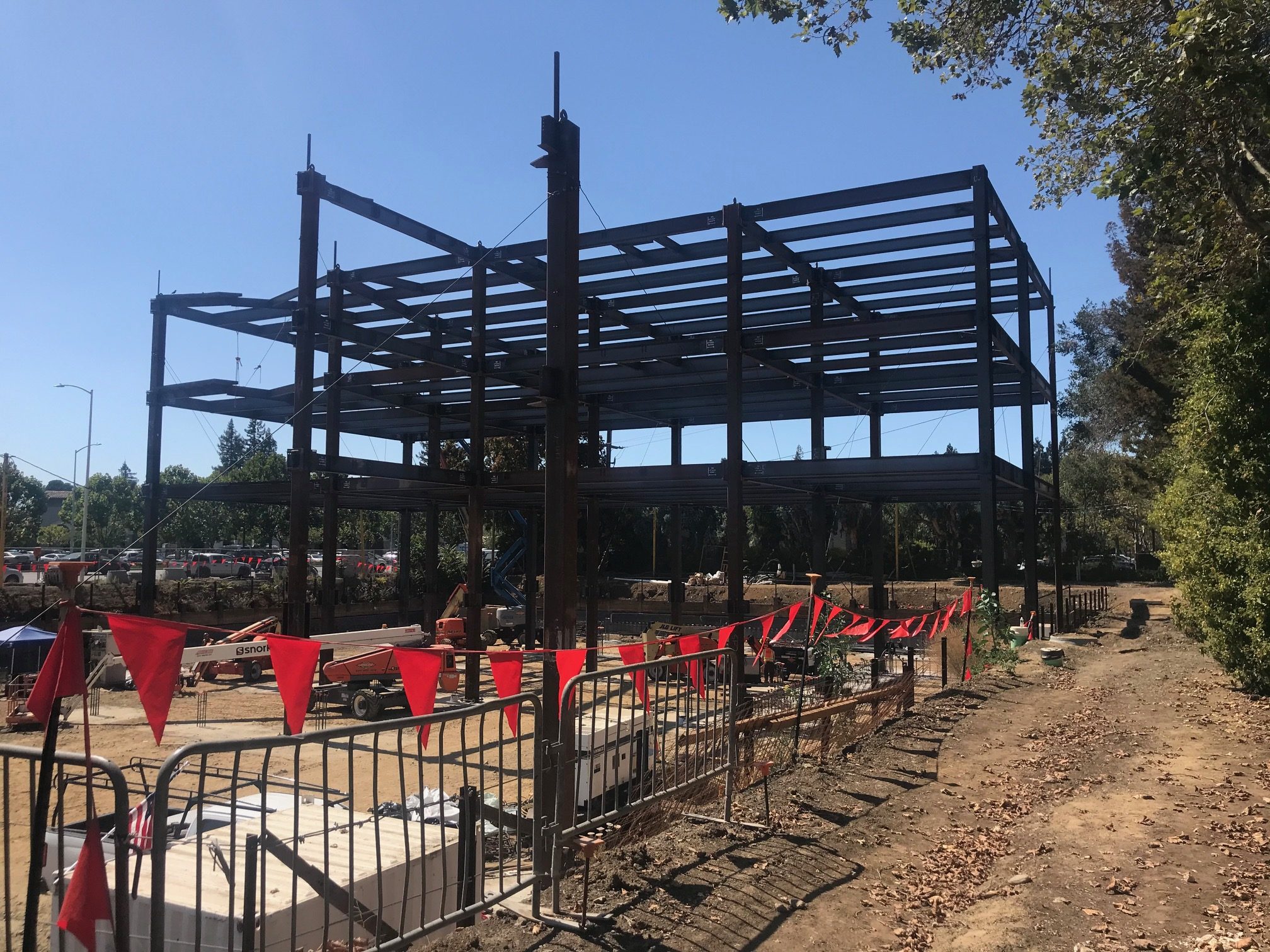 Office Building 1 Steel Structure – August 2020