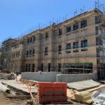 Office Building 2 Exterior Plaster Finishes – May 2021